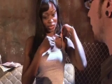 slutty cocoa shanelle gets ravaged by white meat in the alley in hd