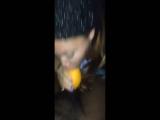 Head with an orange twist